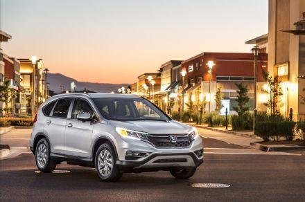 2015-Honda-CR-V-AWD-Touring-front-three-quarter