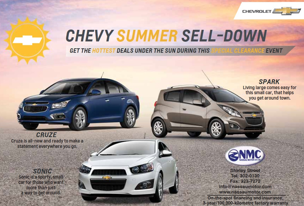 Get In On Our Chevy Summer Sell Down Nassau Motor Company